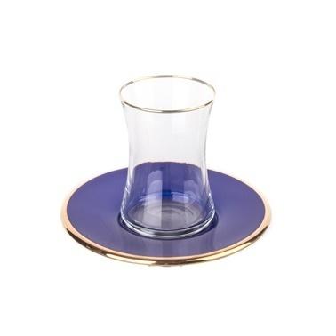 Marianna Mood 12 Parça Çay Seti Kobalt Renkli